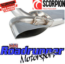"Scorpion Astra VXR J MK6 Turbo Back Exhaust System Non Res 3"" Inc DeCat Downpipe"