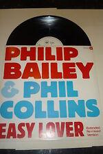 "PHIL COLLINS & PHILIP BAILEY : Easy Lover - 1984 UK CBS 12"" vinyl single"