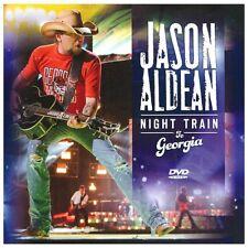 Night Train to Georgia,Excellent DVD, Musical performances by Jason Aldean, No D
