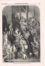 1849 Adoration Of Magi Painted By Rubens Christmas Books