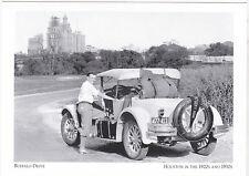 """Buffalo Drive"" /A 1928 Franklin Car/ *Houston Tx-1920's-30's- {Postcard} (A5-2)"