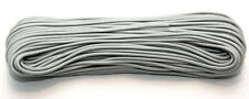 NEW 7 strand High Grade 550 Paracord 50ft Silver Grey
