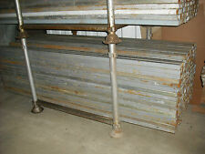 Box Section 2.4mts Mild Steel 40x40 Hollow Section Used,40mm x 40mm x 3mm