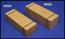 HO 6x Bundle of wood HOn3 Produits MP diorama bois empilées # H026