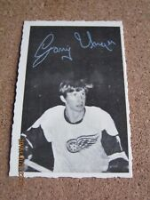 1970 71 OPC O Pee Chee Deckle # 16 Garry Unger - Detroit Red Wings             X