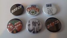 6 Bad Company button badges 25mm Ready for Love Can't get Enough Young Blood