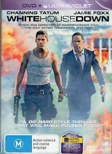 WHITE HOUSE DOWN starring Channing Tatum (DVD, 2014) - BRAND NEW & SEALED!!!