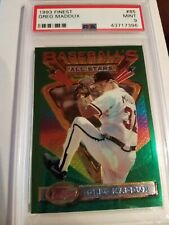 1993 Topps Finest GREG MADDUX #85 PSA 9 Atlanta Braves