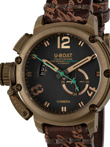 U-Boat 8527 Chimera Bronze Automatik Limited Edition 46mm 10ATM