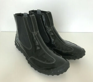 Nike Lab G Series Black Ankle Pull on Boot Waterproof Womens Size 7.5