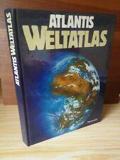 Buch ATLANTIS WELTATLAS * grosses Buch von 1984