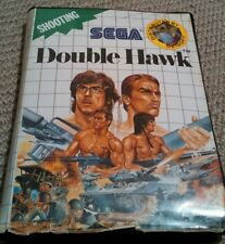 DOUBLE HAWK (Master System Game) Sega C with free post. Vintage 1990