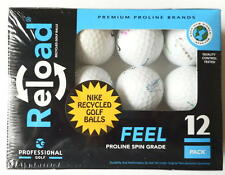 12 Pack Of Reload Nike Recycled Golf Balls Professional Feel Proline Spin Grade