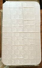 White lace tablecloth, size 92 by 62, pre-owned but never used!