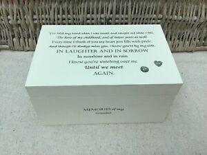 Personalised Memory Box In Memory Of GRANDAD Grandpa Or Any Name Memorial