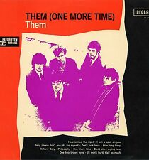 "THEM ""ONE MORE TIME"" ORIG MONO HOLL 1966 VG++"