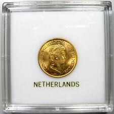 1917 Netherlands 10 Gulden