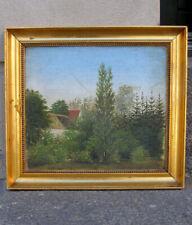 Fine Antique Danish Golden Age Landscape.  1860.