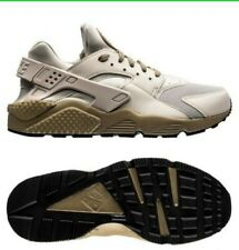 Original Nike Air Huarache Light Bone Beige Olive Trainers Sneakers Uk 8.5,Eu 43