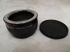 Vivitar MC 2X-24 Tele Converter Camera Lens - Contax / Yashica Mount
