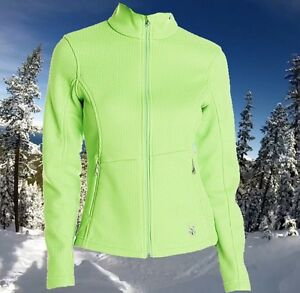 Spyder Women's XS Endure Sports Ski Running Training Ski Sweater Jacket Nwt $120