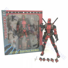 "Unbrand Marvel Comic 8"" Deadpool Red Removable Original Action Figure Model"