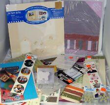 Bulk Scrapbook Embellishment Lot #15 Craft Paper Stickers Rub-Ons