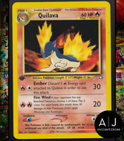 Quilava 46/111 1st Edition Neo Genesis Set Non-Holo WOTC Pokemon Card TCG NM/MT