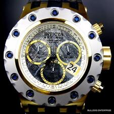 Invicta Reserve Specialty Subaqua Meteorite Gold Tone Limited Ed Swiss Watch New