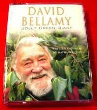 David Bellamy Reads Jolly Green Giant 2-Tape Audio Book Autobiography Botanist