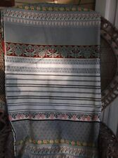 "Authentic ETRO fabric Cotton Ethnic pattern 3 yards 15"""