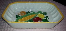 """1985 8"""" X 11"""" Ceramic Dish Made from a GATOR MOLD Co. Mold"""