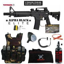 Tippmann Us Army Alpha Elite Tactical E-Grip Lt Hpa Vest Paintball Package