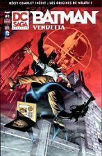 DC SAGA  PRESENTE  N° 1  :  BATMAN VENDETTA