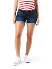 Levi Strauss Women's Low Rise Shorts Size 20 Indigo Color Modern Heritage NEW
