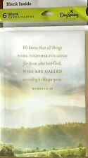 Friendship Blank Note Cards Religious Message Value 6 pac all same Hallmark V6