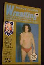Major League Wrestling Official Souvenir Program 1983 Issue No 304