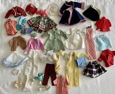 Vintage Barbie and Other ?1960's era Doll Clothes Lot Swim Robe & Shower Cap
