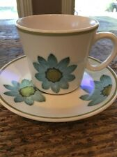 Noritake Up Sa Daisy Cup Saucer Set Mid Century Modern Progression