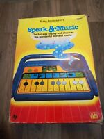 Texas Instruments Speak And Music Vintage 1986 Toy Fully Working