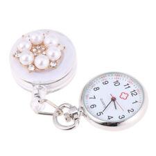 Nurse Watch Light Clip-on Brooch Tunic FOB Medical Pocket Mini Watch Timer