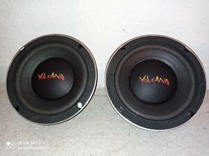 Subwoofer Volcano 65 C 100 USA 6 Mid Bass 6,5 Zoll 16 cm Kick Punch RAR TMT DHL