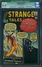 Strange Tales #110 CGC 6.0 Q 1963 1st Doctor Strange! Avengers! H7 602 cm clean