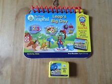 My First LeapPad Leap's Big Day Cartridge &  Book