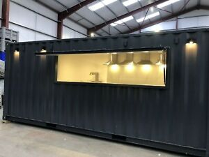Catering unit - converted shipping container