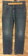 Levi Strauss 28X28 511 skinny blue jeans 100% cotton zipper