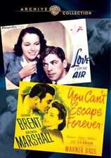 You Can't Escape Forever (1937) / Love Is On the Air (1942) (2-Disc) NEW DVD