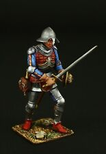Tin soldier, Collectible, Medieval Infantry Soldier 54 mm, Medieval Europe