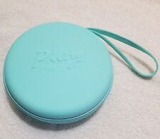 Sephora Play! Smarts Round Hard Case aqua Travel Bag Makeup NEW