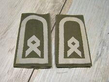Bundeswehr Schulterklappen Hauptfeldwebel Oliv